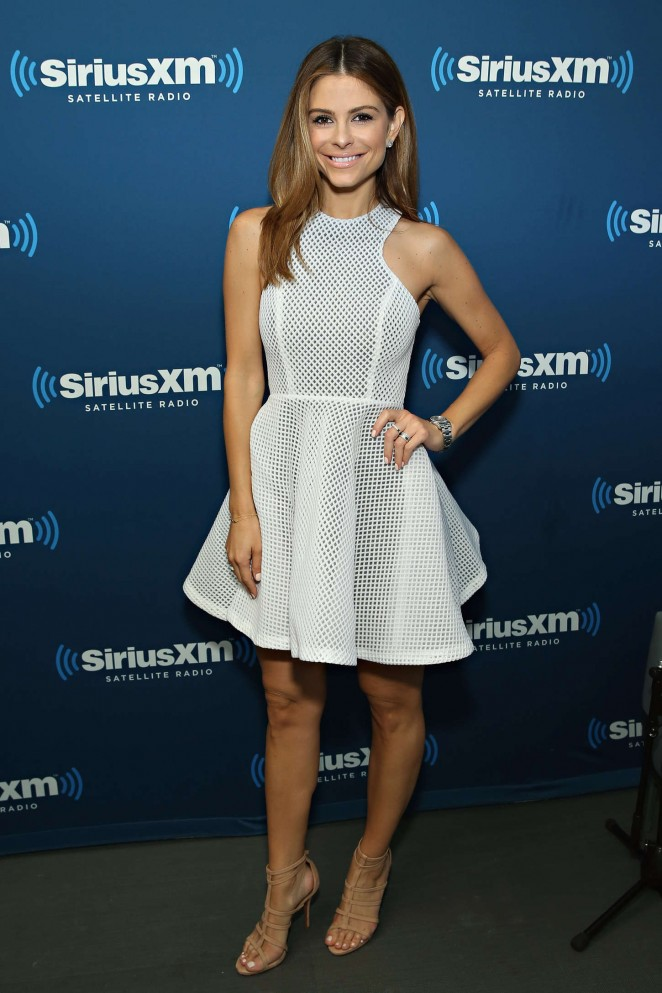 Maria Menounos: SiriusXMs Town Hall with Rob Gronkowski -09