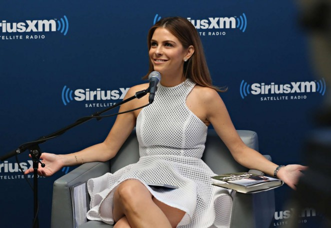 Maria Menounos: SiriusXMs Town Hall with Rob Gronkowski -13