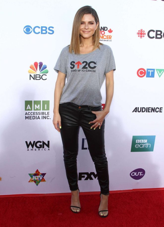 Maria Menounos - Stand Up To Cancer Live in Los Angeles