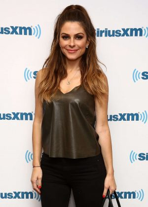 Maria Menounos - Visits SiriusXM Studios in New York City