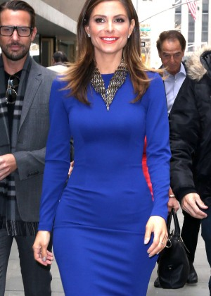 Maria Menounos - Visits The Today Show in NYC