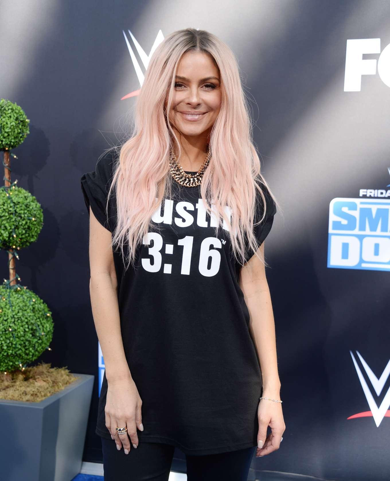 Maria Menounos - WWE 20th Anniversary Celebration in Los Angeles