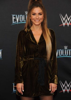 Maria Menounos - WWE Evolution in New York