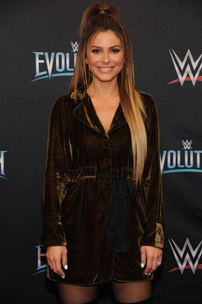 Maria Menounos - WWE Evolution in New York