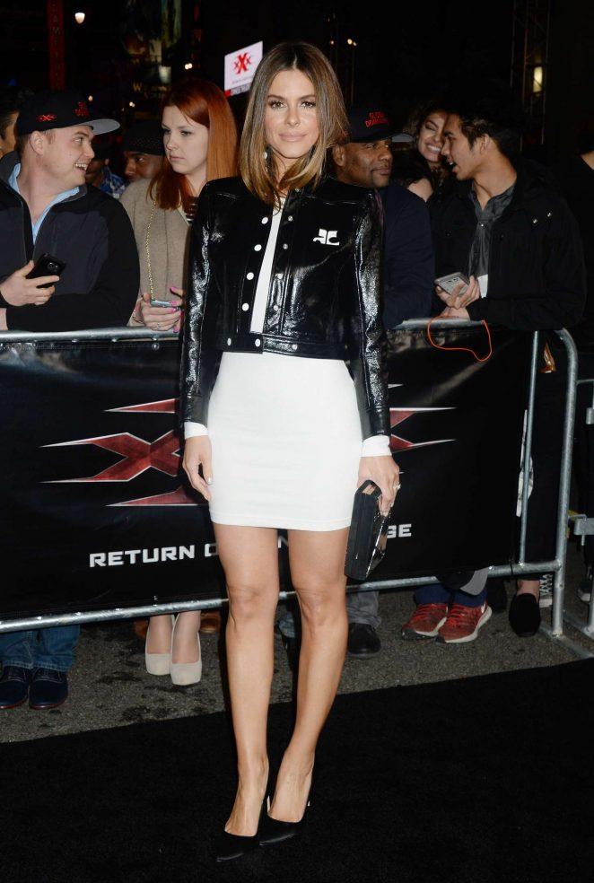 Maria Menounos - 'xXx: Return of Xander Cage' Premiere in Los Angeles