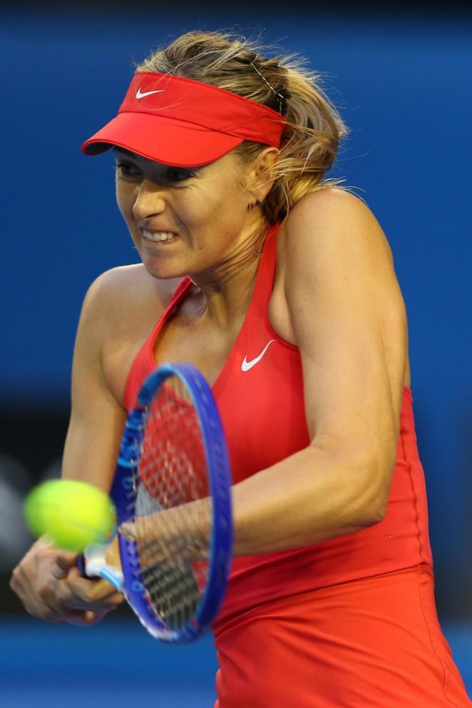 Maria Sharapova - 2015 Australian Open in Melbourne 3rd round
