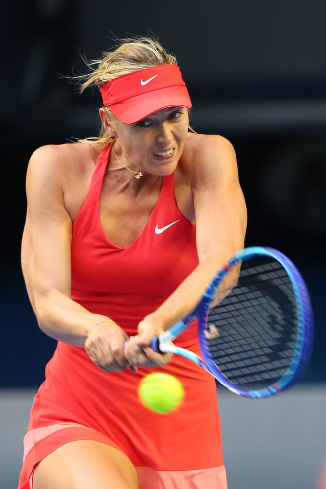 Maria Sharapova: 2015 Australian Open in Melbourne 3rd ...