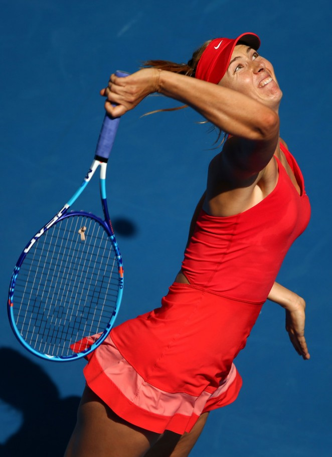 Maria Sharapova: 2015 Australian Open 4th round -10 - GotCeleb