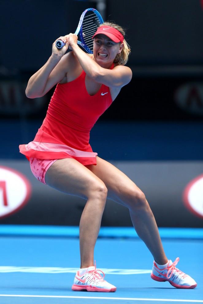 Maria Sharapova - 2015 Australian Open in Melbourne Day 3