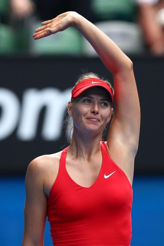 Maria Sharapova: 2015 Australian Open Day 3 -56 - GotCeleb