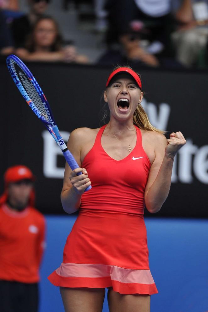 Maria Sharapova - 2015 Australian Open in Melbourne Day 9