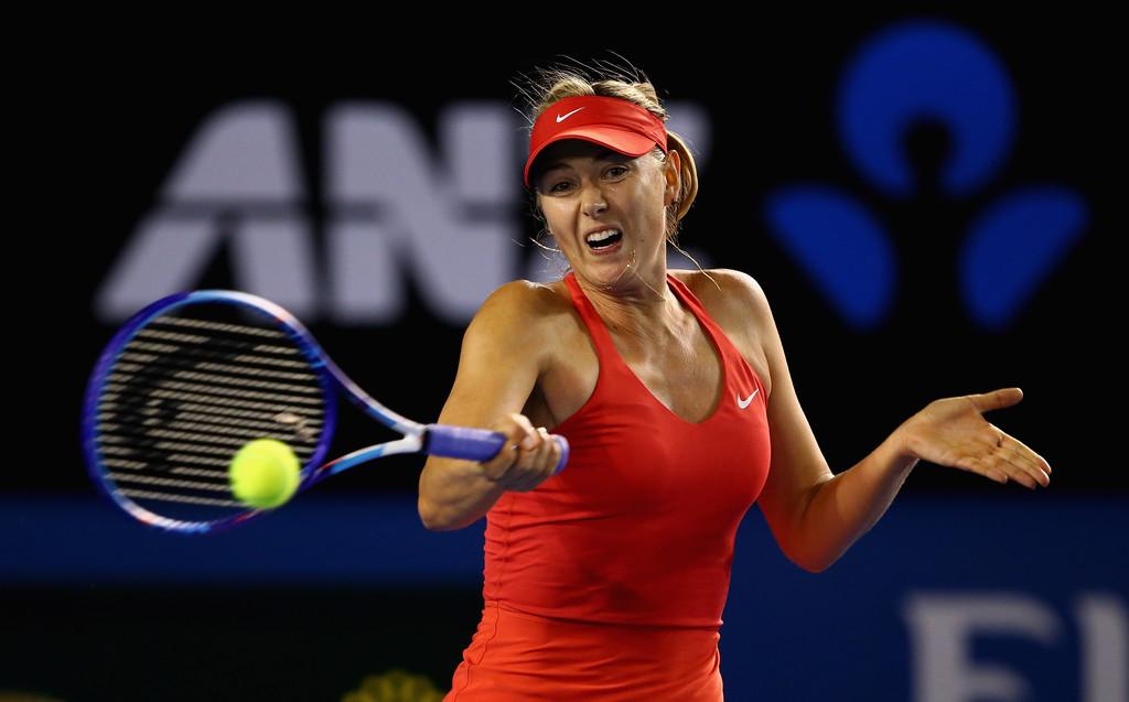 Maria Sharapova: 2015 Australian Open -14 - GotCeleb