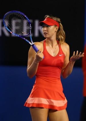 Maria Sharapova - 2015 Australian Open in Melbourne