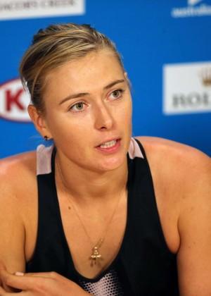 Maria Sharapova - 2015 Australian Open Press Conference
