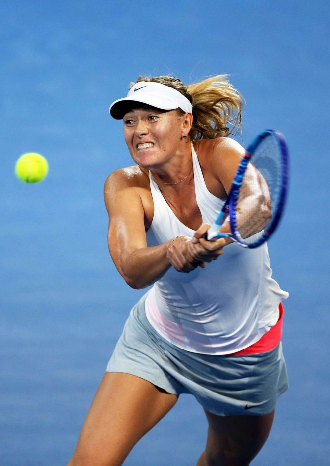 Maria Sharapova - 2015 Brisbane International Day 3