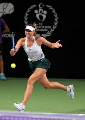 Maria Sharapova - 2017 TEB BNP Paribas Tennis Stars Series in Istanbul