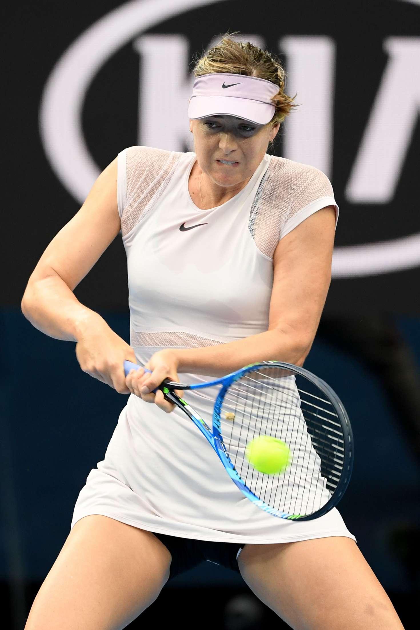 Maria Sharapova 2018 Australian Open in Melbourne Day