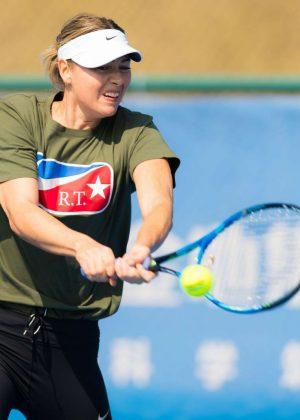 Maria Sharapova - 2018 Shenzen Open WTA International Open in Shenzen