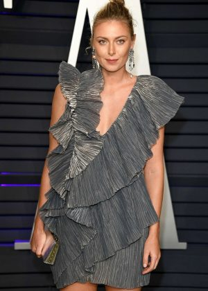 Maria Sharapova - 2019 Vanity Fair Oscar Party in Beverly Hills