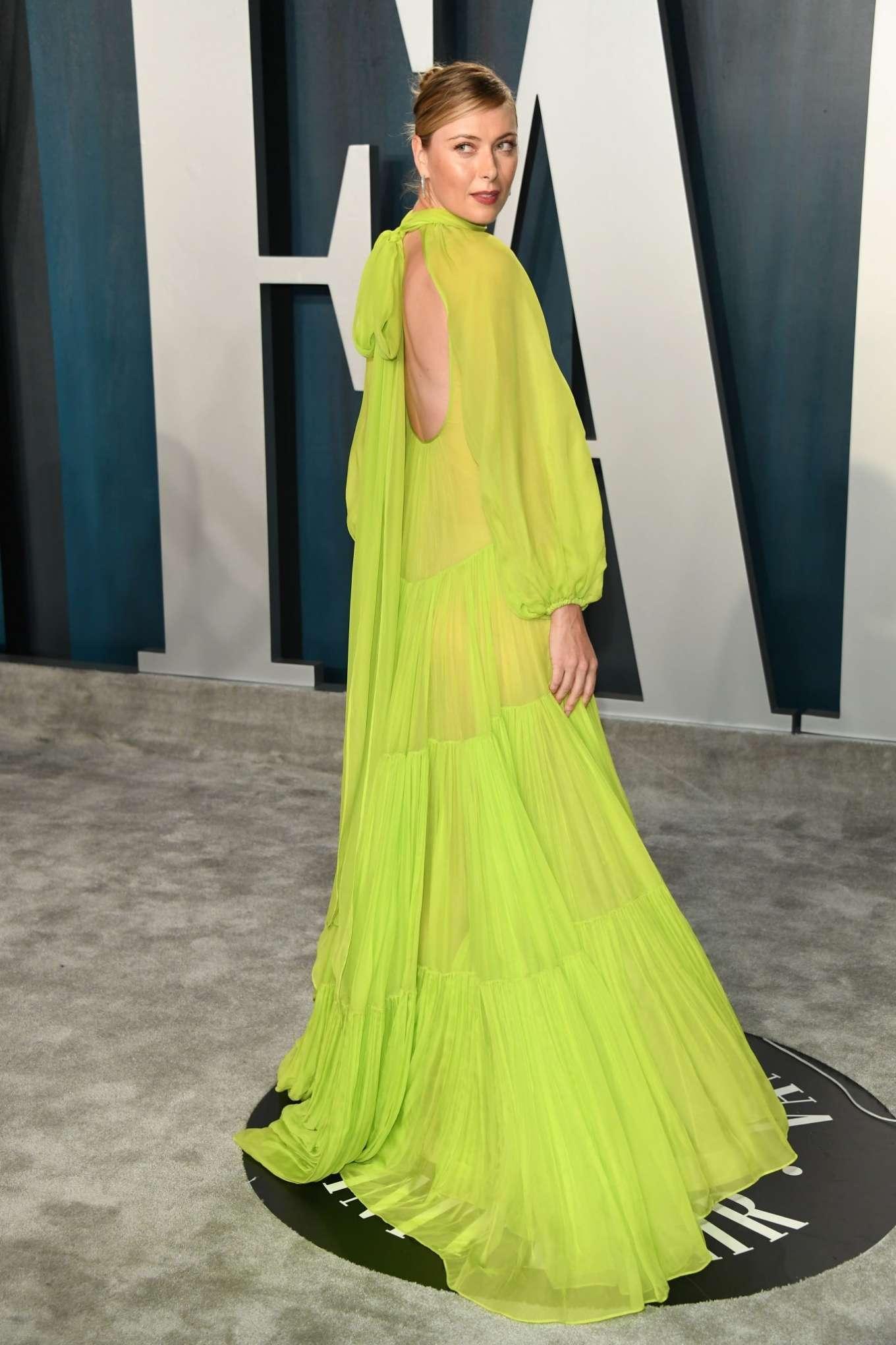 Maria Sharapova 2020 : Maria Sharapova – 2020 Vanity Fair Oscar Party in Beverly Hills-02