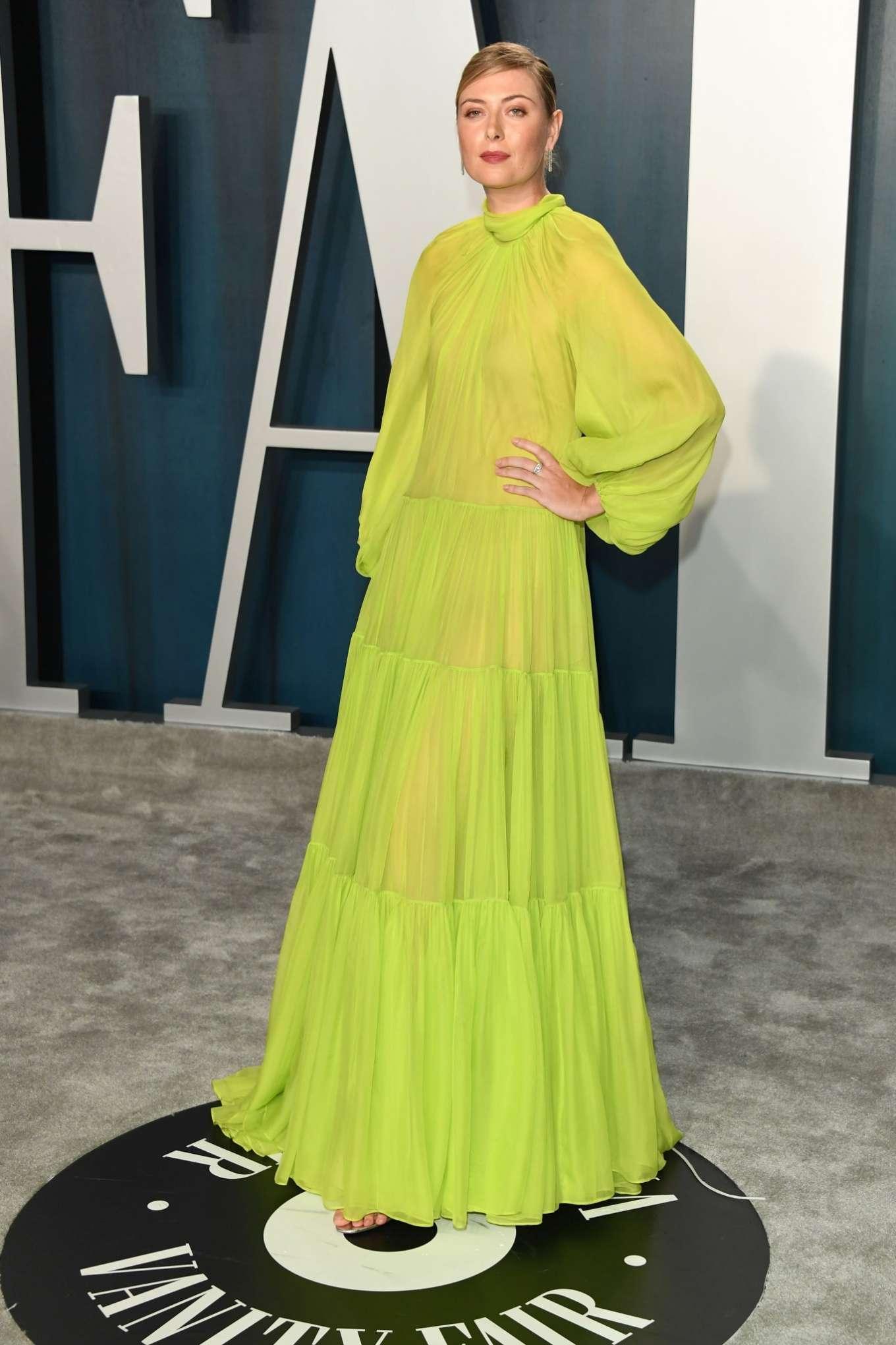 Maria Sharapova 2020 : Maria Sharapova – 2020 Vanity Fair Oscar Party in Beverly Hills-03