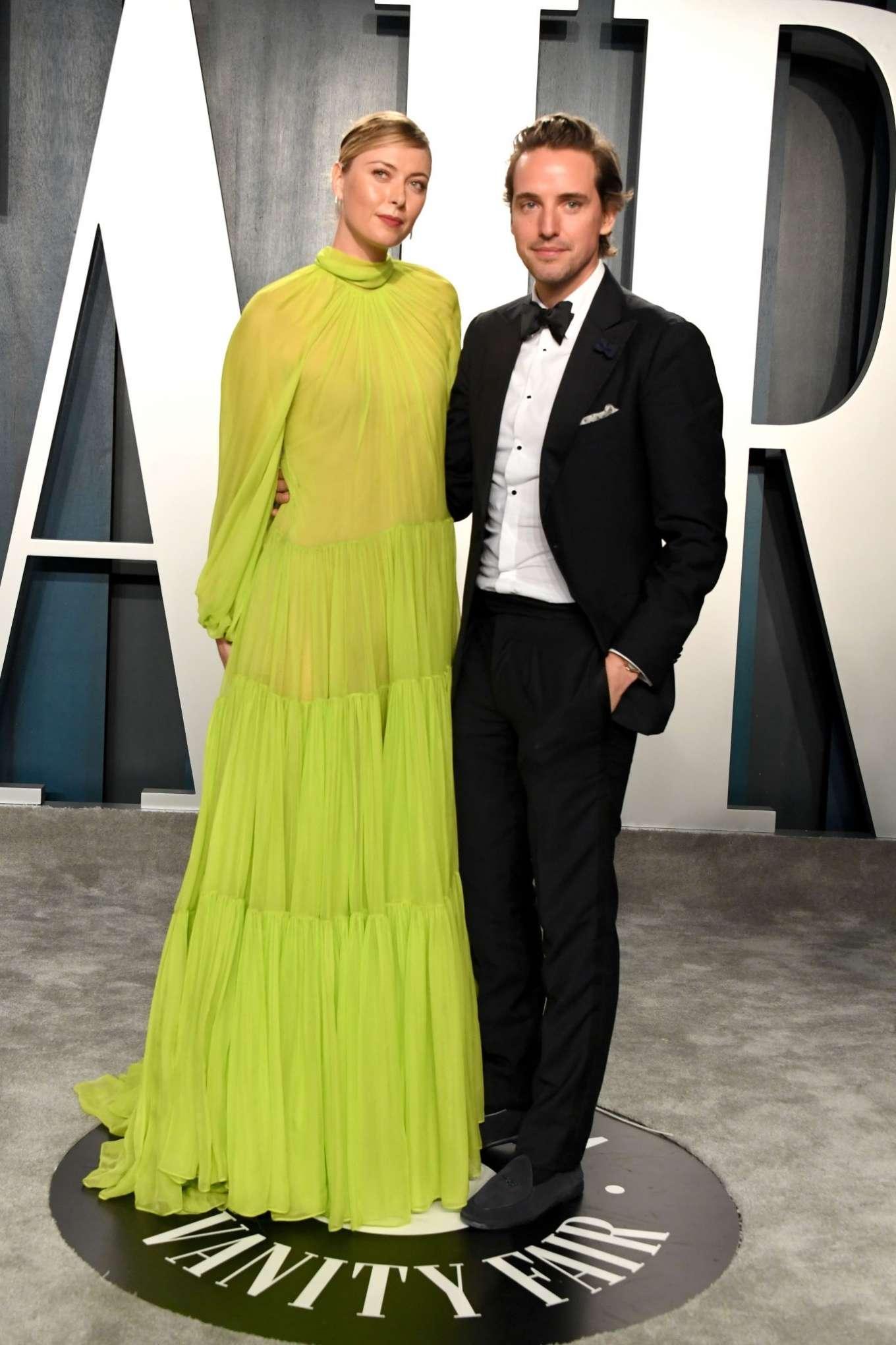 Maria Sharapova 2020 : Maria Sharapova – 2020 Vanity Fair Oscar Party in Beverly Hills-04
