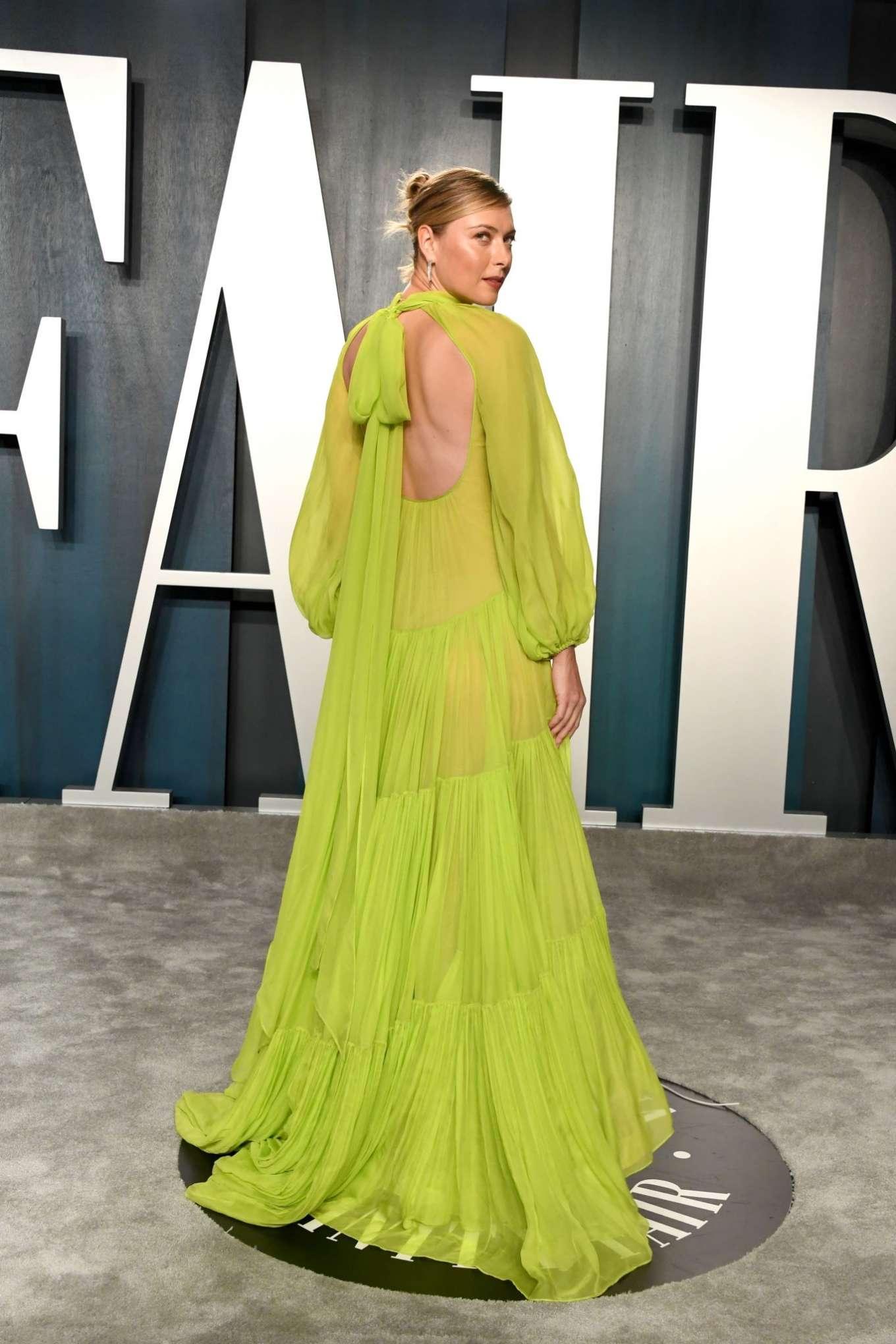 Maria Sharapova 2020 : Maria Sharapova – 2020 Vanity Fair Oscar Party in Beverly Hills-06