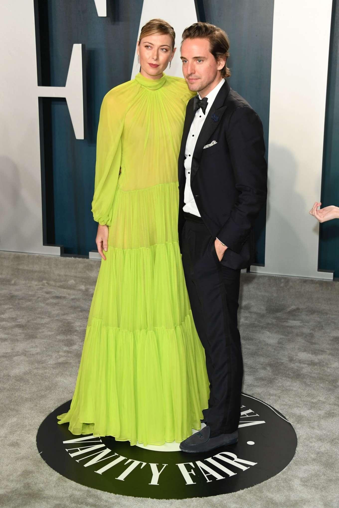 Maria Sharapova 2020 : Maria Sharapova – 2020 Vanity Fair Oscar Party in Beverly Hills-07