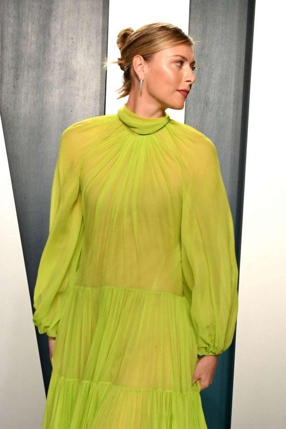 Maria Sharapova - 2020 Vanity Fair Oscar Party in Beverly Hills