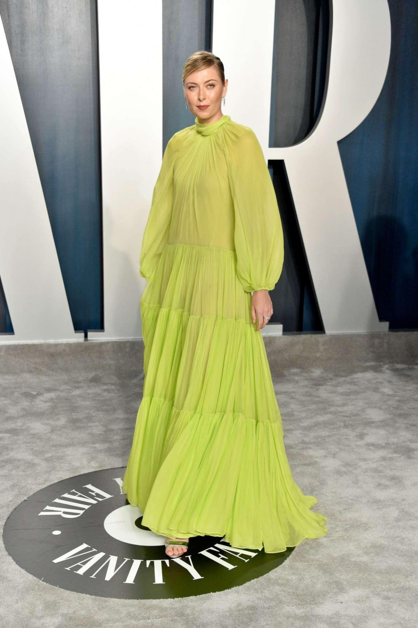 Maria Sharapova 2020 : Maria Sharapova – 2020 Vanity Fair Oscar Party in Beverly Hills-09