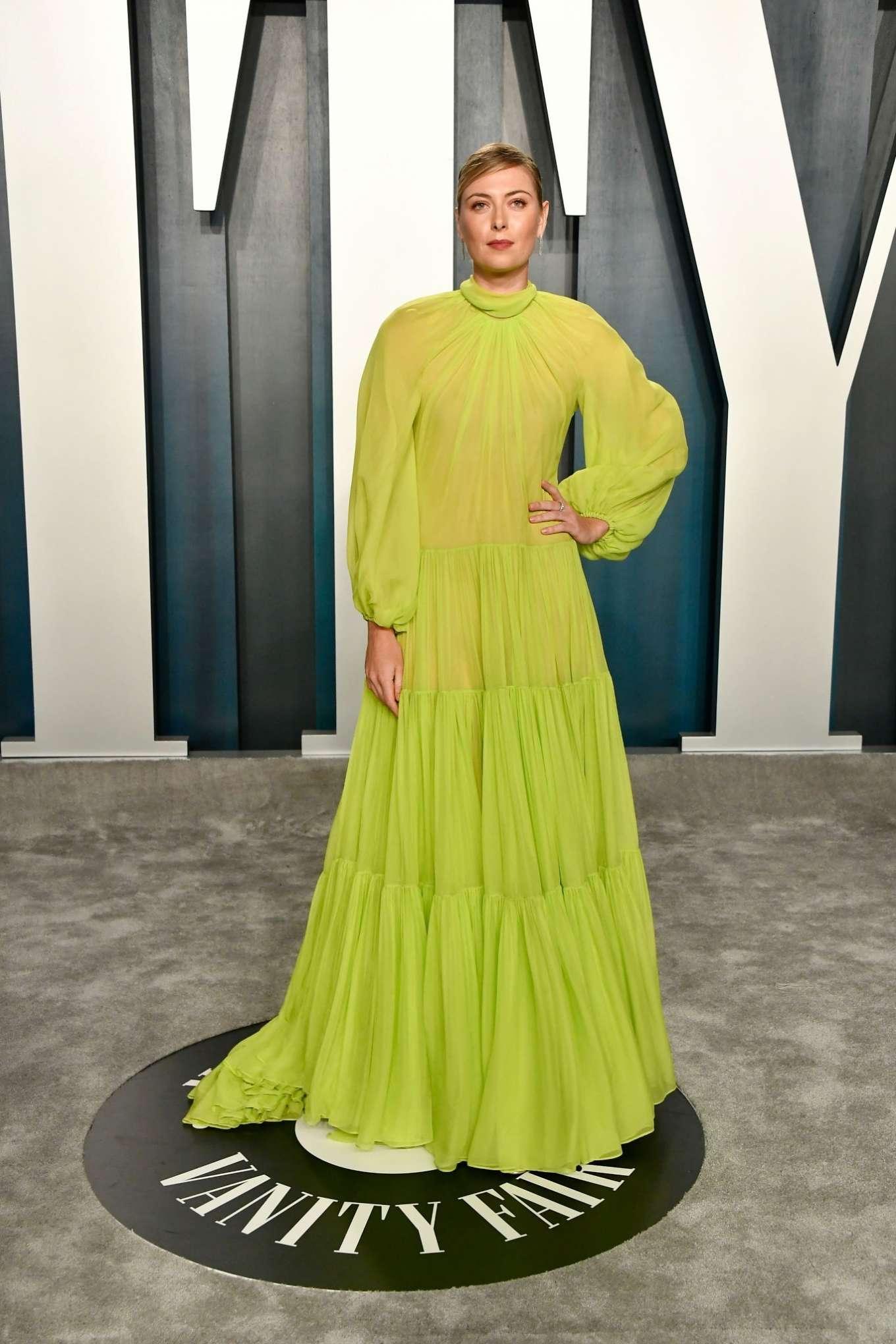 Maria Sharapova 2020 : Maria Sharapova – 2020 Vanity Fair Oscar Party in Beverly Hills-10