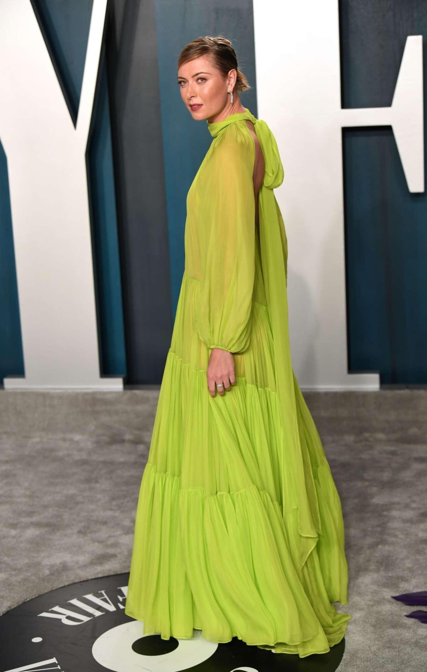 Maria Sharapova 2020 : Maria Sharapova – 2020 Vanity Fair Oscar Party in Beverly Hills-11