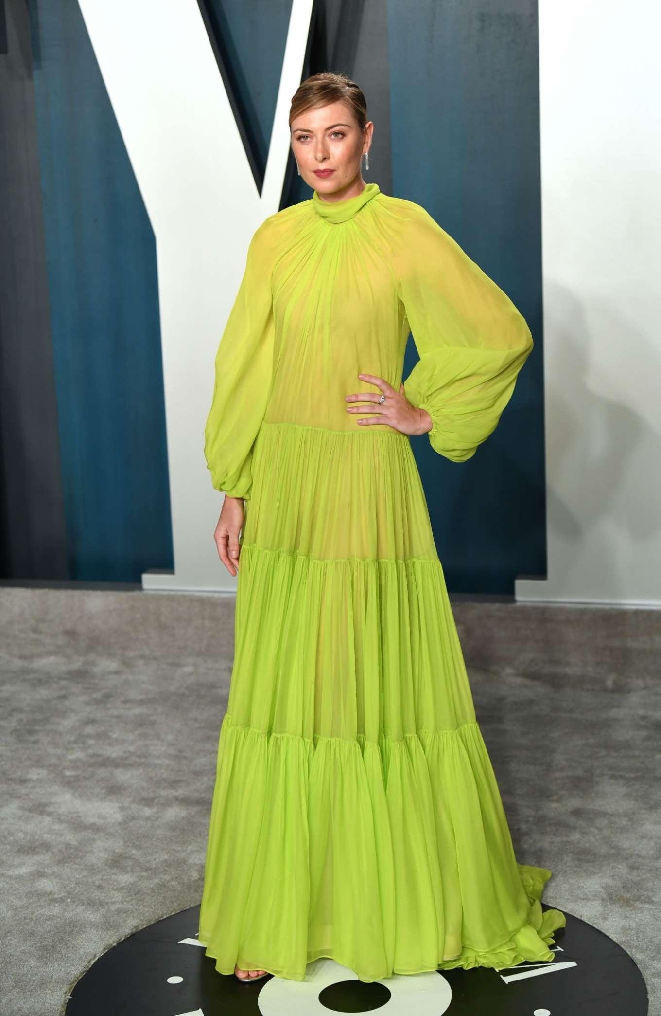 Maria Sharapova 2020 : Maria Sharapova – 2020 Vanity Fair Oscar Party in Beverly Hills-14
