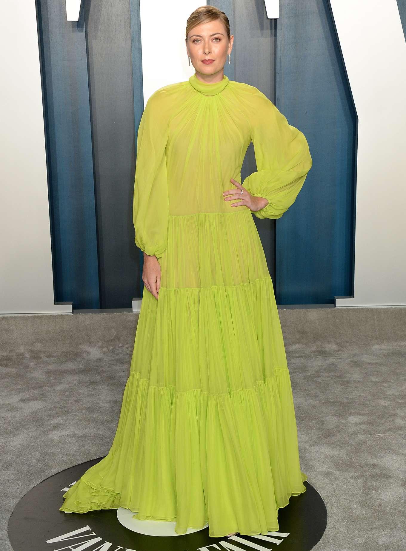 Maria Sharapova 2020 : Maria Sharapova – 2020 Vanity Fair Oscar Party in Beverly Hills-15
