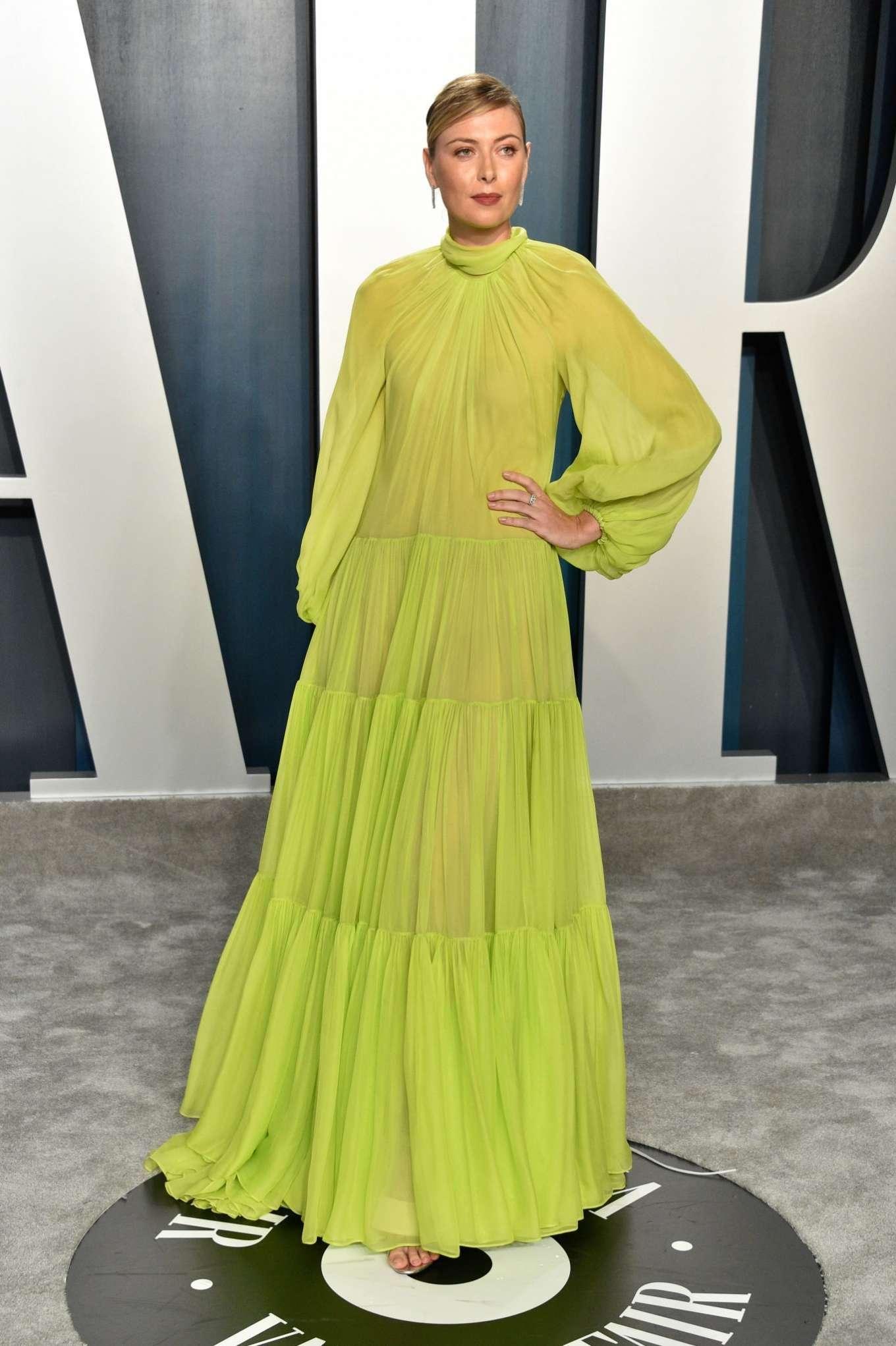 Maria Sharapova 2020 : Maria Sharapova – 2020 Vanity Fair Oscar Party in Beverly Hills-19