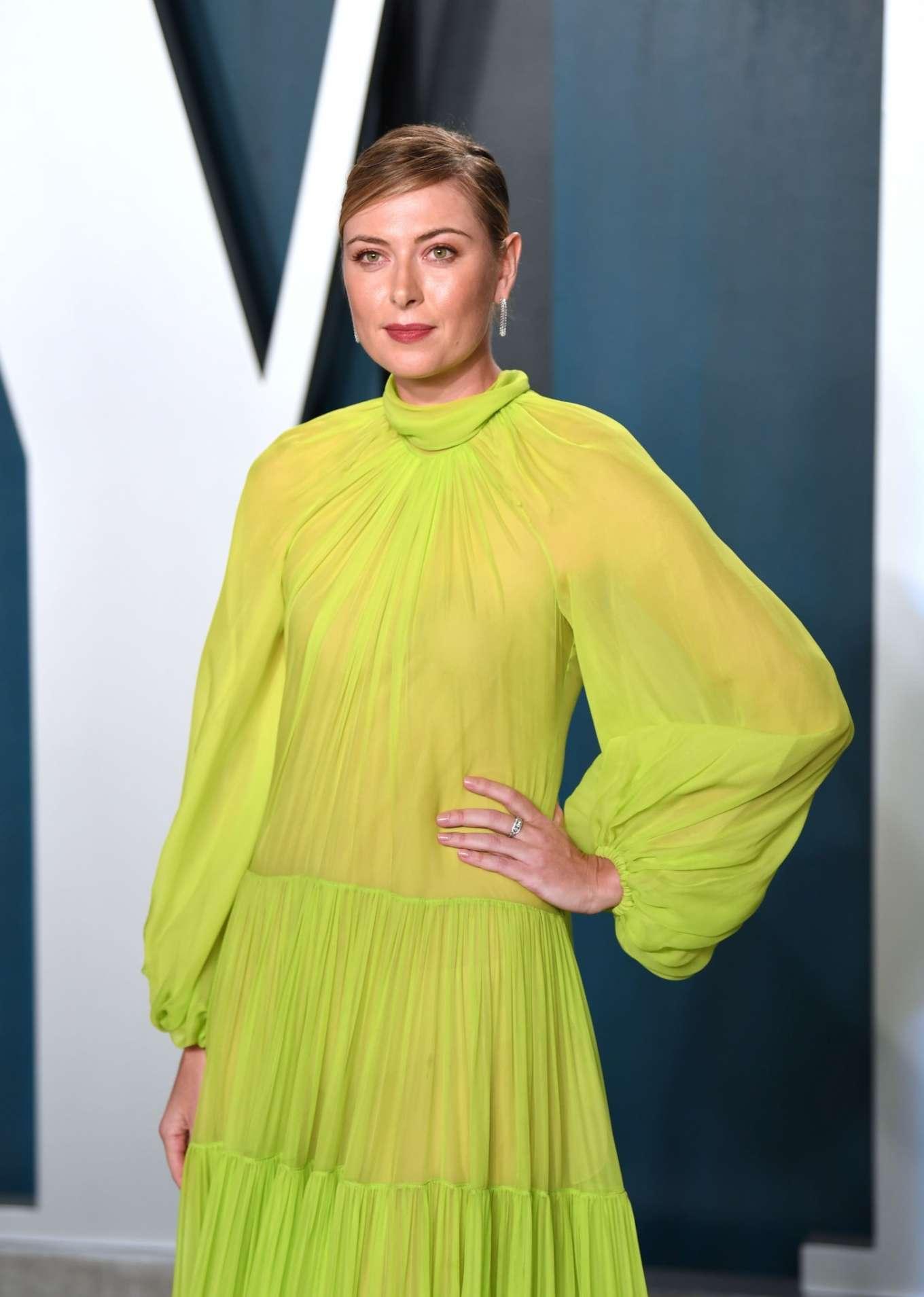 Maria Sharapova 2020 : Maria Sharapova – 2020 Vanity Fair Oscar Party in Beverly Hills-20