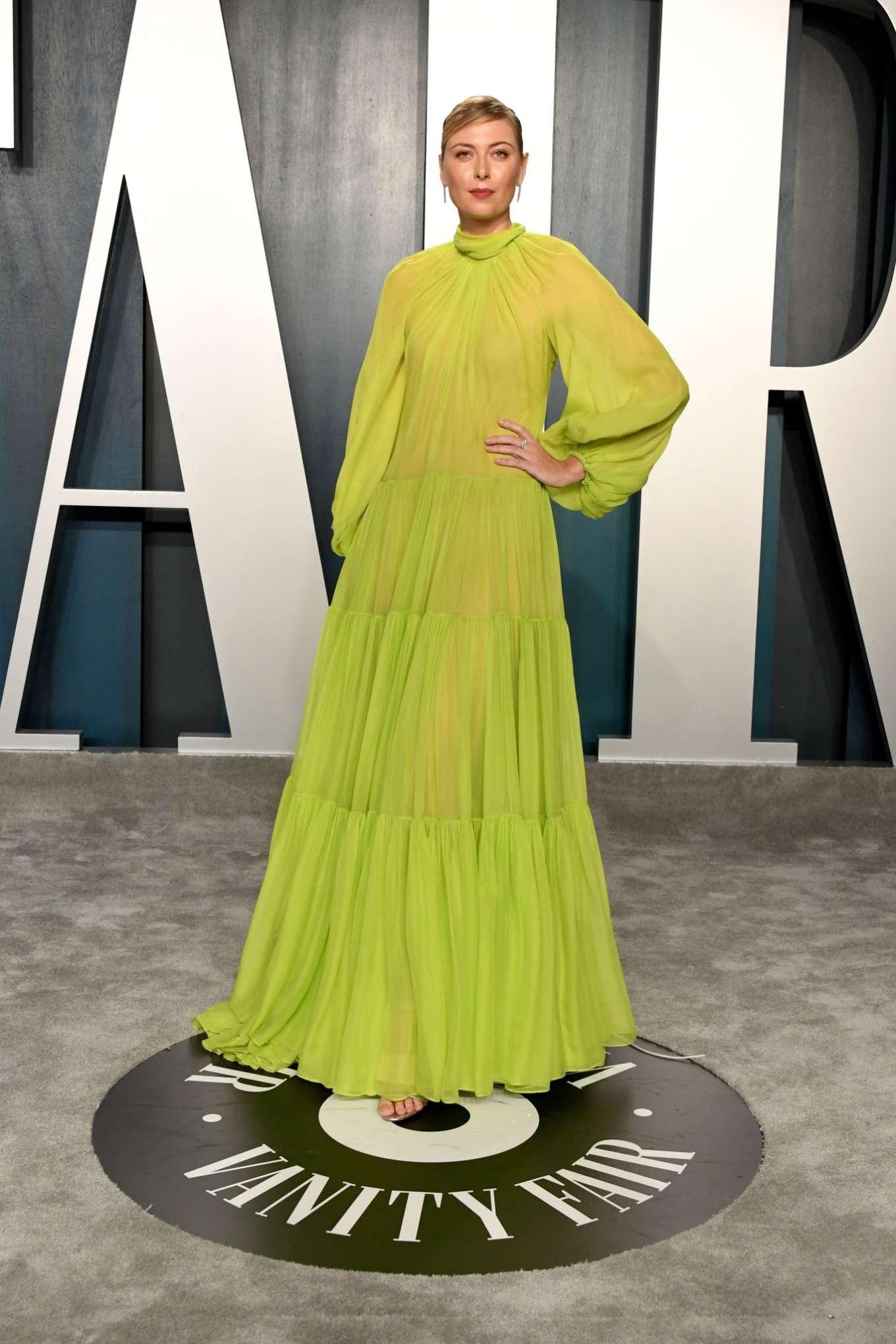 Maria Sharapova 2020 : Maria Sharapova – 2020 Vanity Fair Oscar Party in Beverly Hills-22