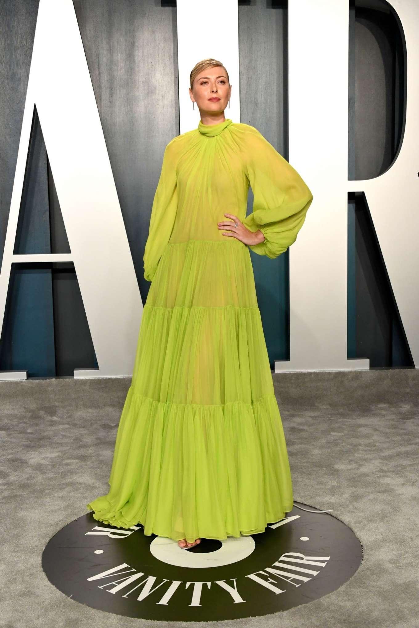 Maria Sharapova 2020 : Maria Sharapova – 2020 Vanity Fair Oscar Party in Beverly Hills-23