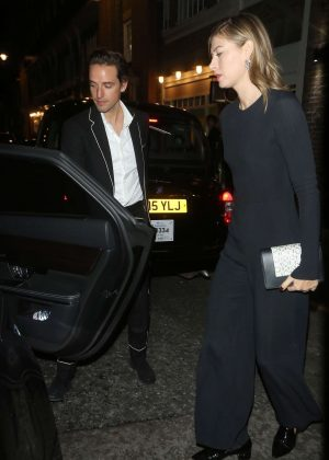 Maria Sharapova and boyfriend Alexander Gilkes - Out in London