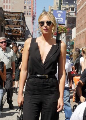 Maria Sharapova at 2016 New York Fashion Show in NYC