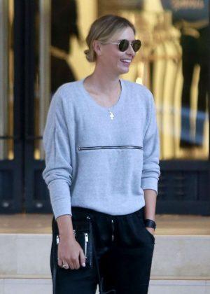 Maria Sharapova at Barneys New York in Beverly Hills