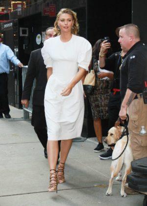 Maria Sharapova at Good Morning America - New York