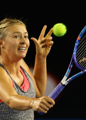 New Chevrolet Volt Melbourne >> Maria Sharapova - Australian Open 2015 Previews in Melbourne
