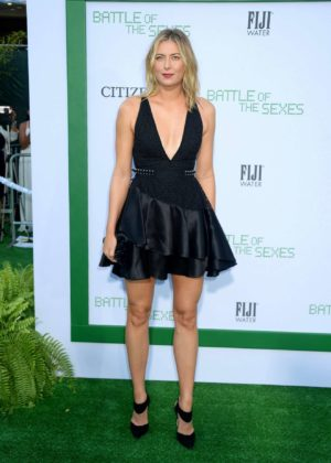 Maria Sharapova - Battle of the Sexes photocall in Los Angeles