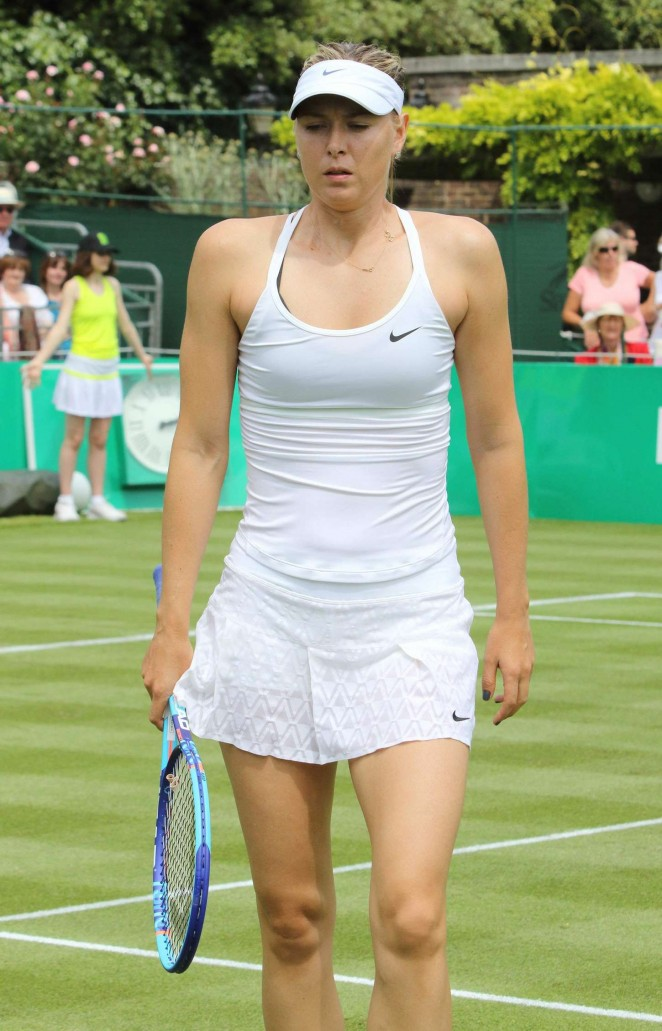 Maria Sharapova - BNP Paribas Tennis Classic in London