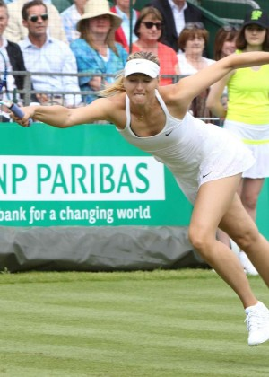 Maria Sharapova: BNP Paribas Tennis Classic -17