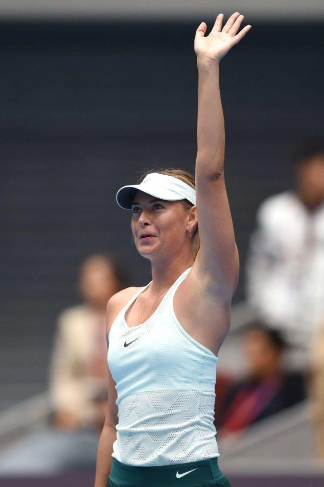 Maria Sharapova: China Open Tennis 2017 in Beijing-07