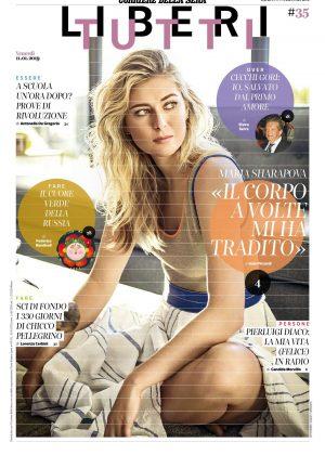 Maria Sharapova - Corriere della Sera Liberi Tutti (January 2019)