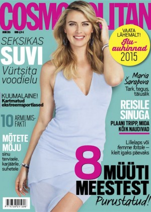 Maria Sharapova - Cosmopolitan Estonia Magazine (June 2015)