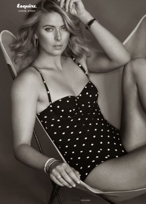 Maria Sharapova - Esquire Bulgaria Magazine (May 2015)